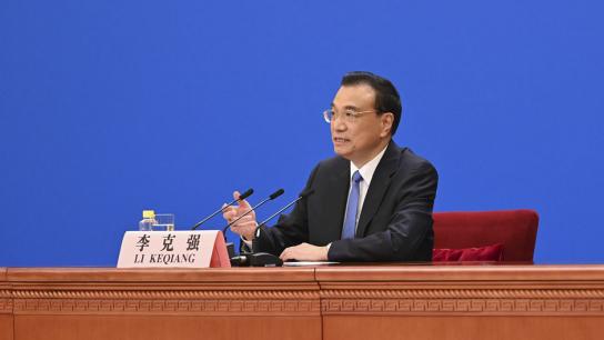 李克强:保持香港长期繁荣稳定 中央政府全力给予支持